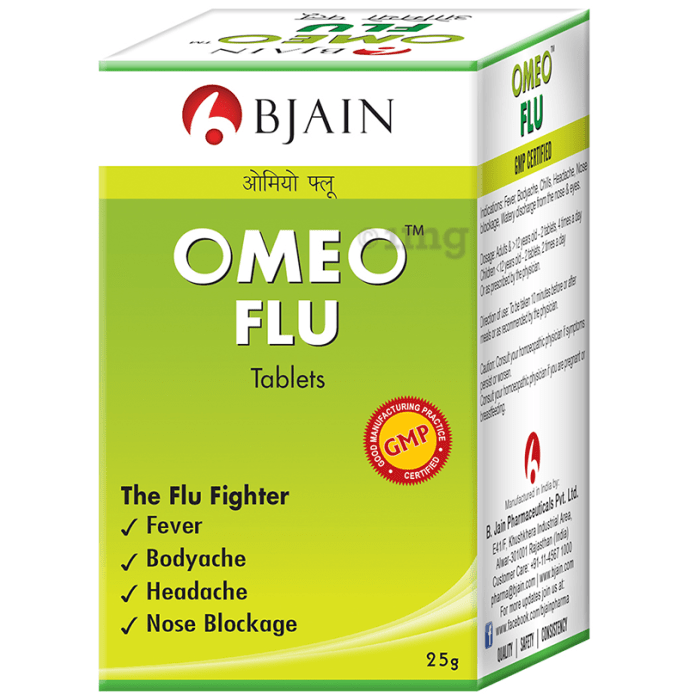 Bjain Omeo Flu Tablet