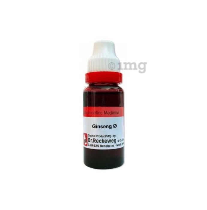 Dr. Reckeweg Ginseng Mother Tincture Q