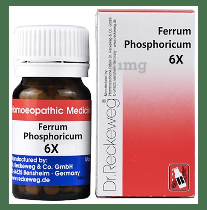 Dr. Reckeweg Ferrum Phosphoricum Biochemic Tablet 6X