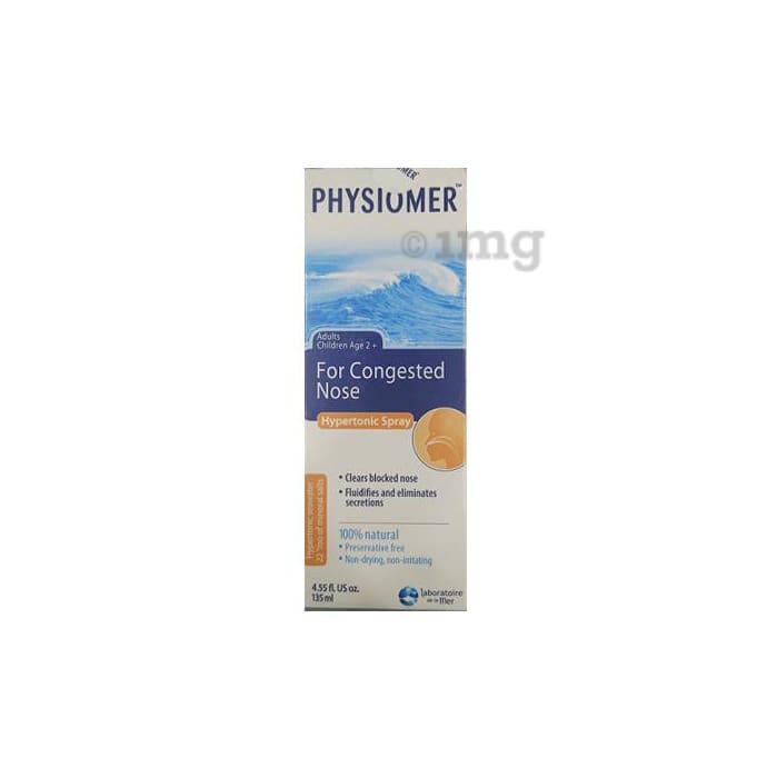 Physiomer Hypertonic Nasal Spray