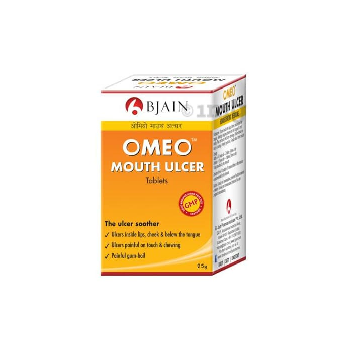 Bjain Omeo Mouth Ulcer Tablet