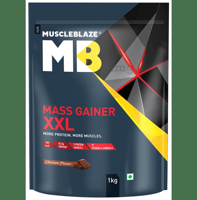 MuscleBlaze Chocolate Mass Gainer XXL