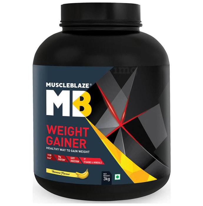 MuscleBlaze Weight Gainer Banana