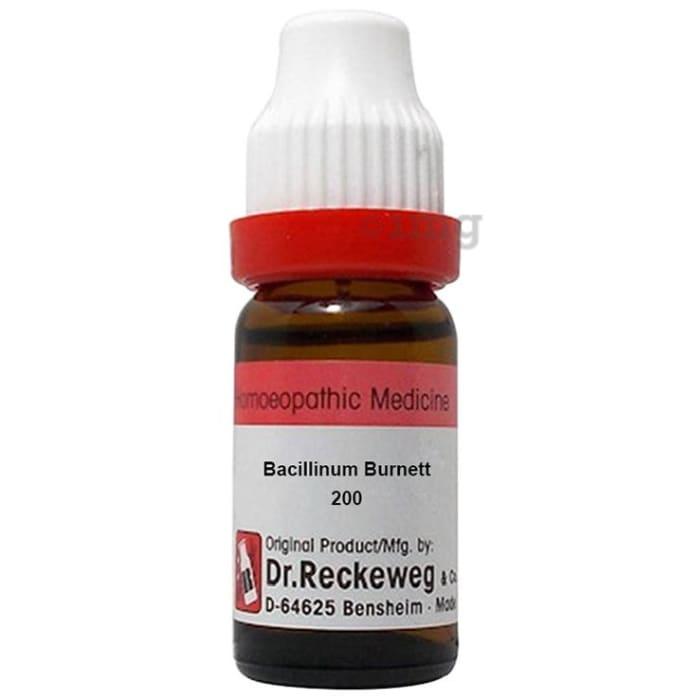 Dr. Reckeweg Bacillinum Burnett Dilution 200 CH