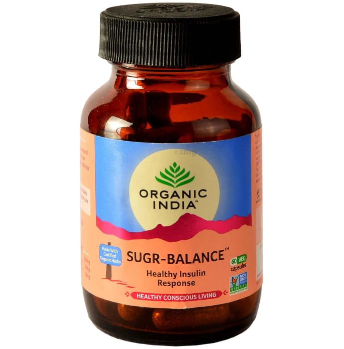 Organic India Sugar Balance Capsule