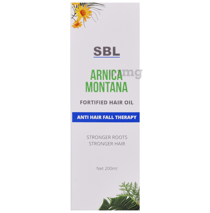 SBL Arnica Montana Fortified Hair Oil