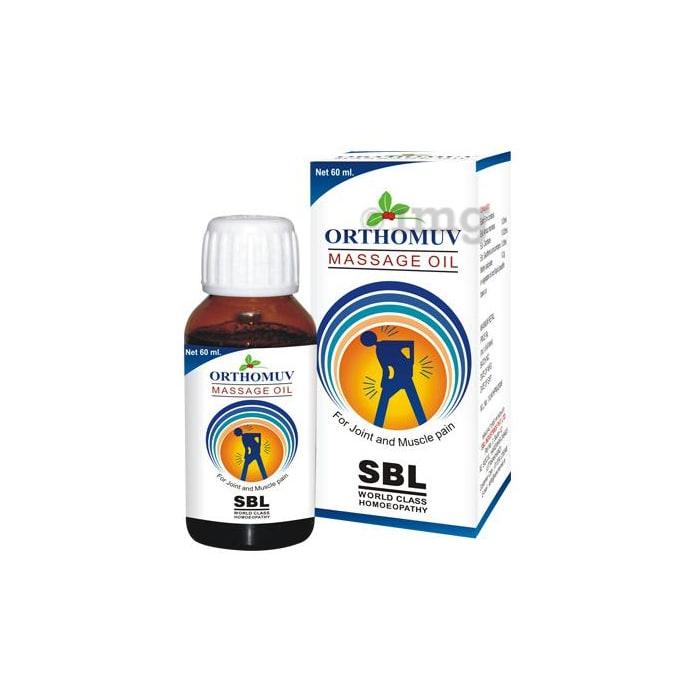 SBL Orthomuv Massage Oil
