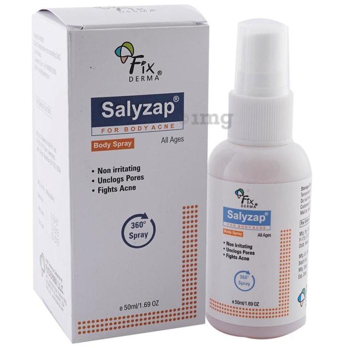 Salyzap Body Spray for Body Acne