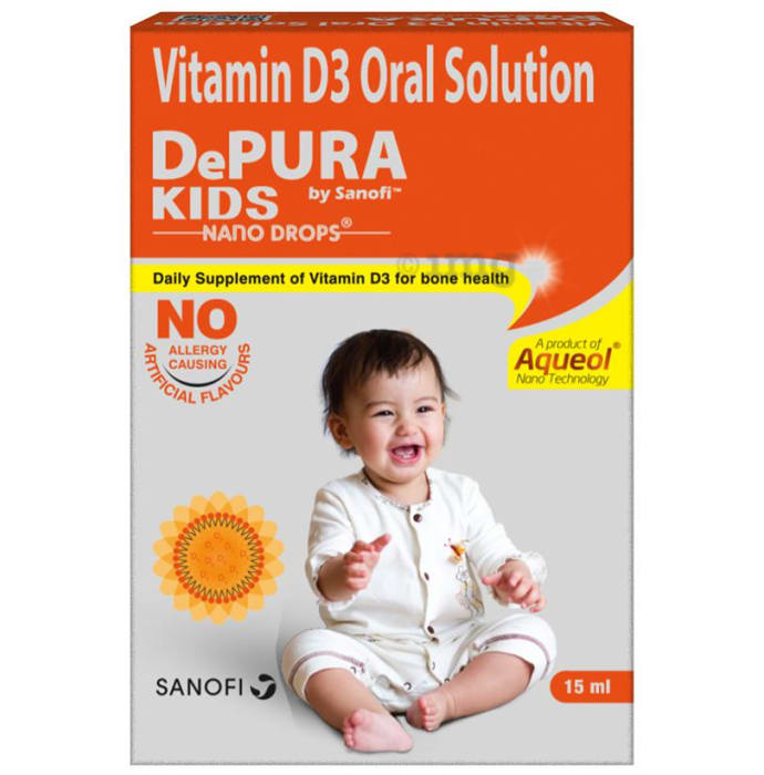 Depura Kids Nano Vitamin D3 400IU Drop