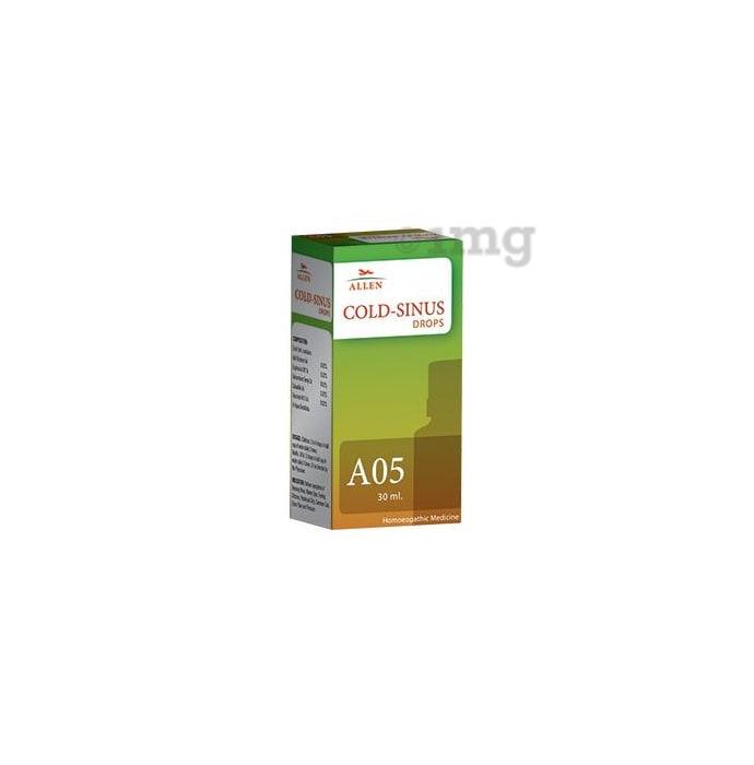 Allen A05 Cold-Sinus Drop