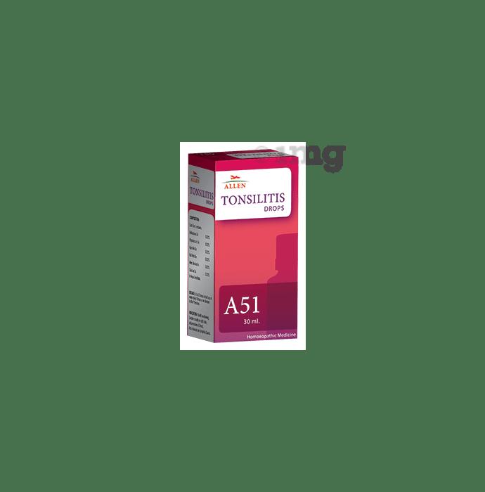 Allen A51 Tonsilitis Drop