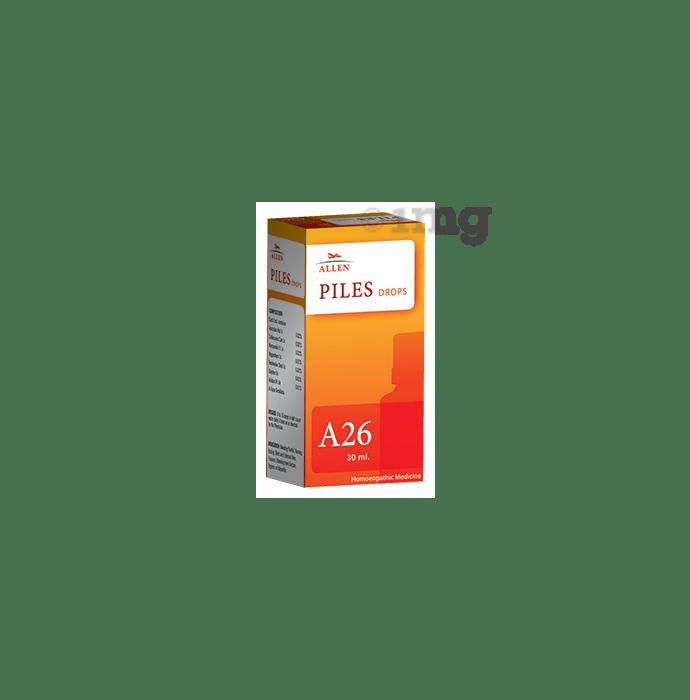 Allen A26 Piles Drop
