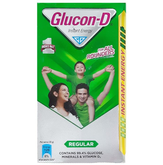 Glucon-D Instant Energy Health Drink Regular