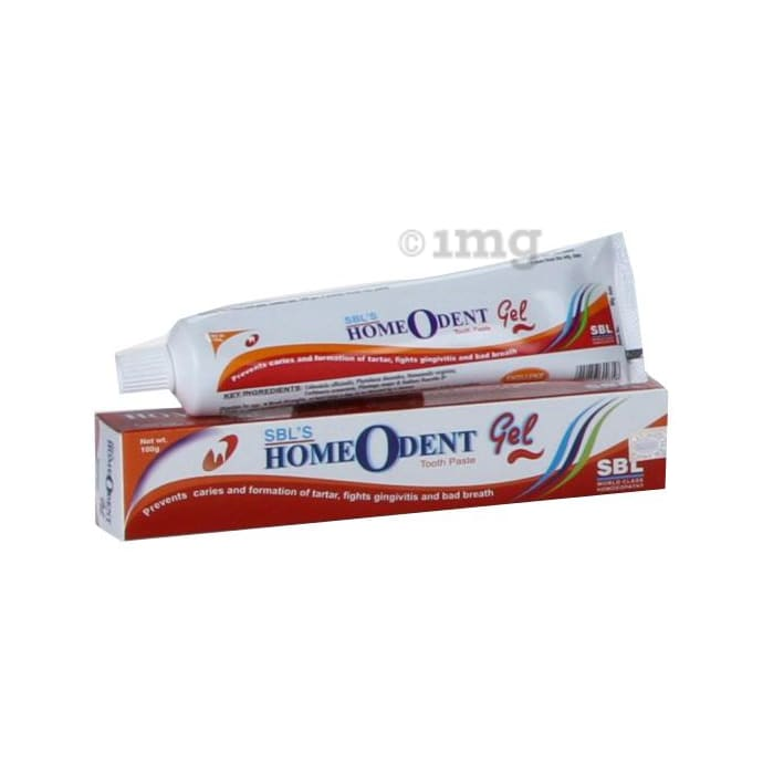SBL Homeodent Tooth Paste Gel