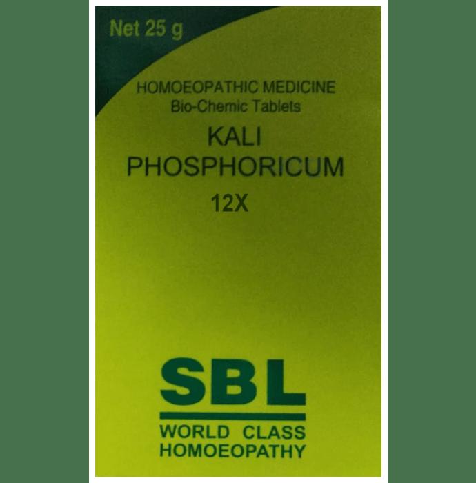 SBL Kali Phosphoricum Biochemic Tablet 12X