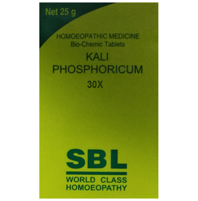 SBL Kali Phosphoricum Biochemic Tablet 30X