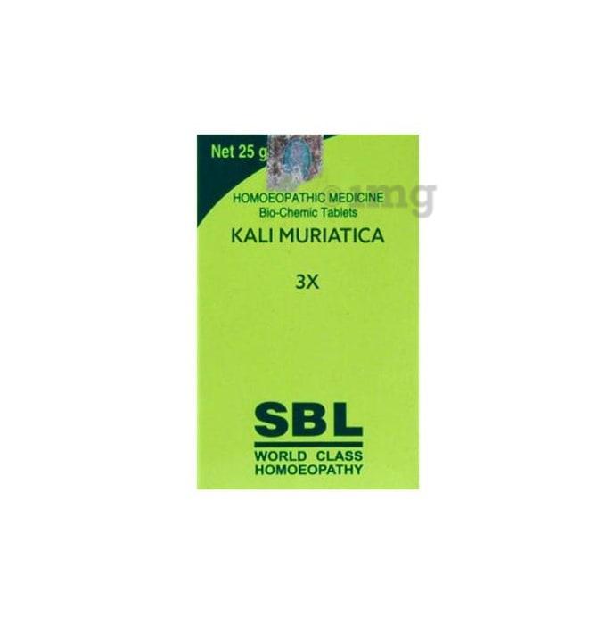 SBL Kali Muriatica Biochemic Tablet 3X