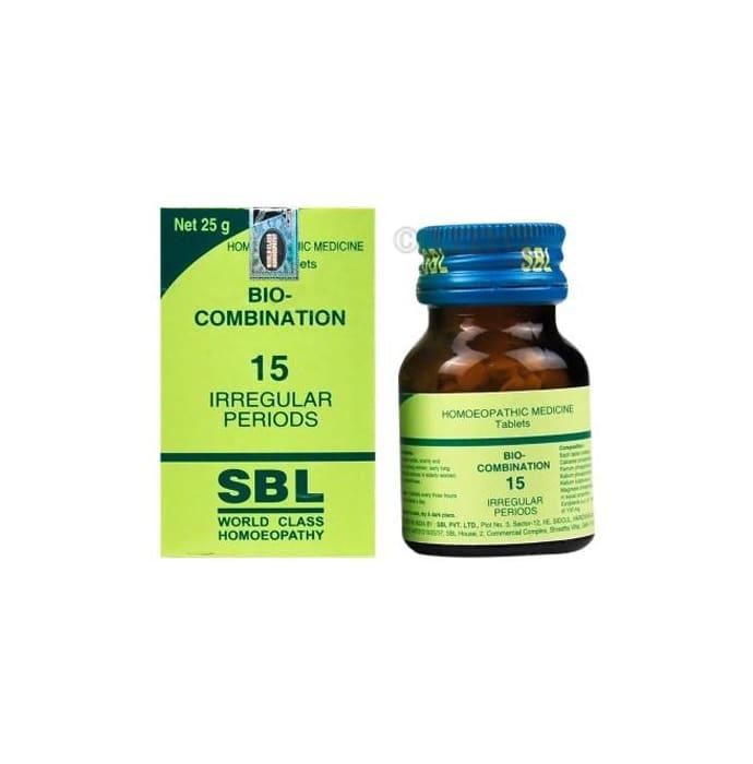 SBL Bio-Combination 15 Tablet