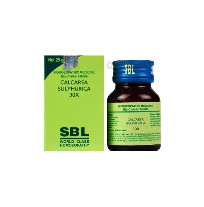 SBL Calcarea Sulphurica Biochemic Tablet 30X