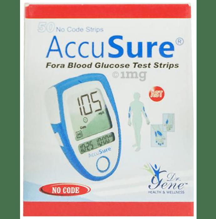 Dr. Gene Accusure Blood Glucose Test Strip