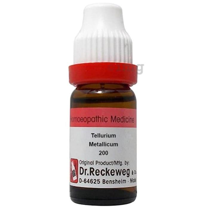 Dr. Reckeweg Tellurium Metallicum Dilution 200 CH