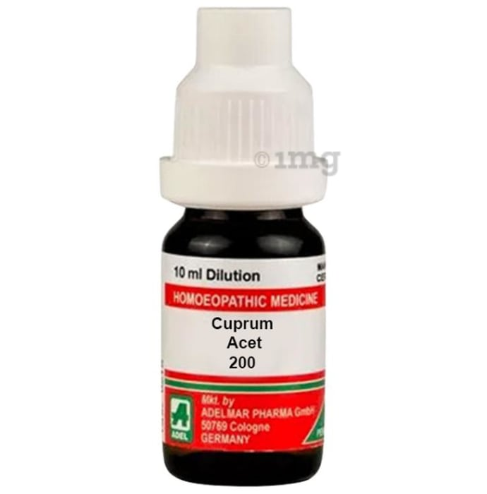 ADEL Cuprum Acet Dilution 200 CH
