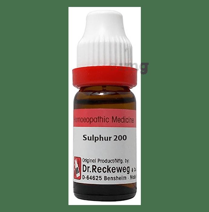 Dr. Reckeweg Sulphur Dilution 200 CH
