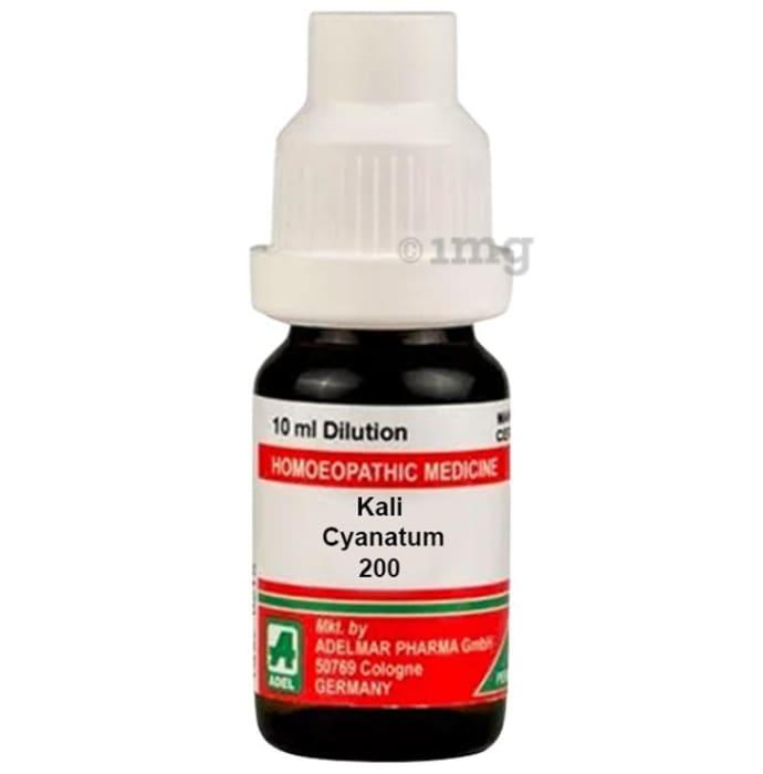 ADEL Kali Cyanatum Dilution 200 CH