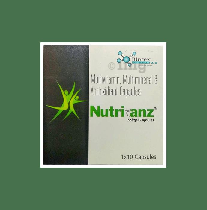 Nutrianz Soft Gelatin Capsule