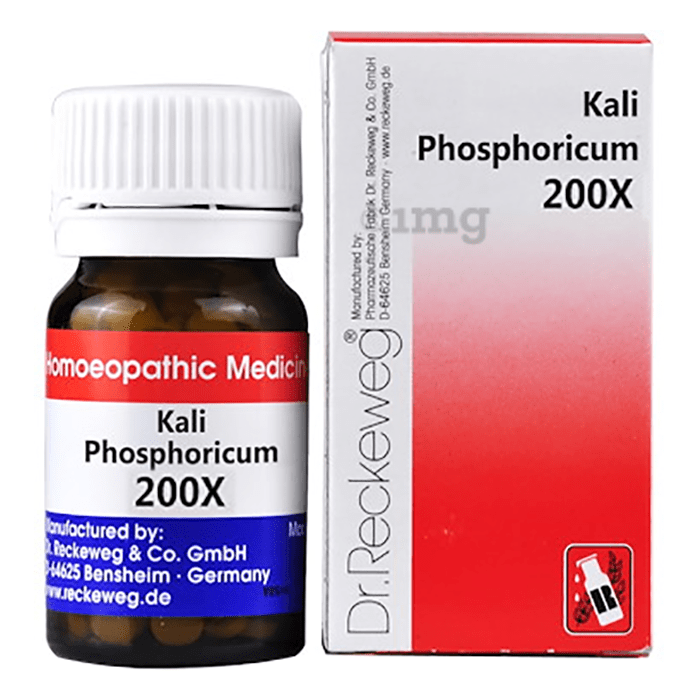 Dr. Reckeweg Kali Phosphoricum Biochemic Tablet 200X