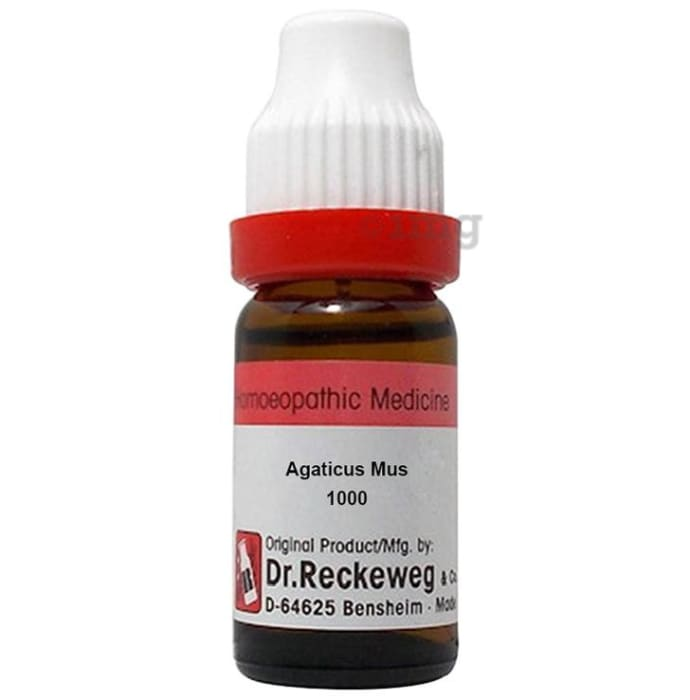 Dr. Reckeweg Agaticus Mus Dilution 1000 CH
