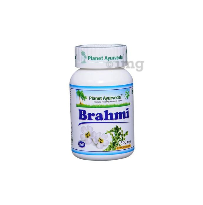 Planet Ayurveda  Brahmi Capsule