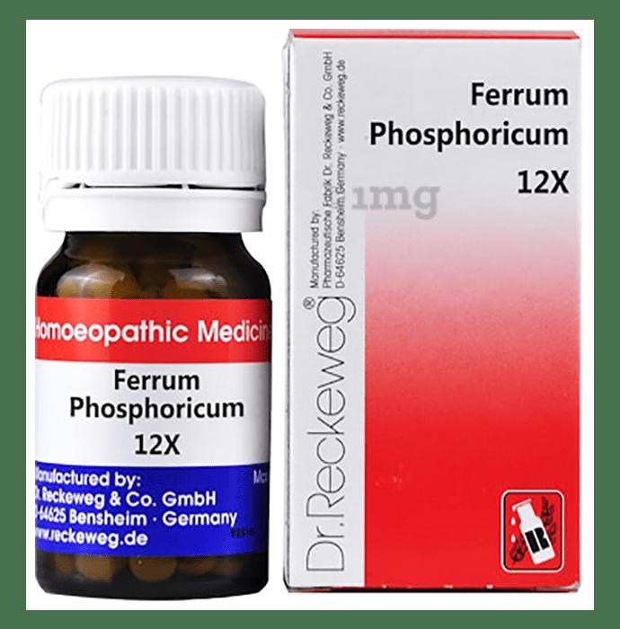 Dr. Reckeweg Ferrum Phosphoricum Biochemic Tablet 12X