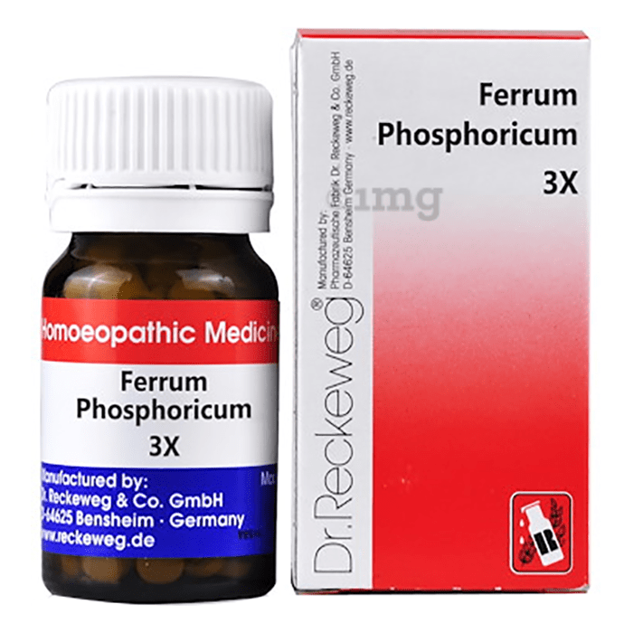 Dr. Reckeweg Ferrum Phosphoricum Biochemic Tablet 3X