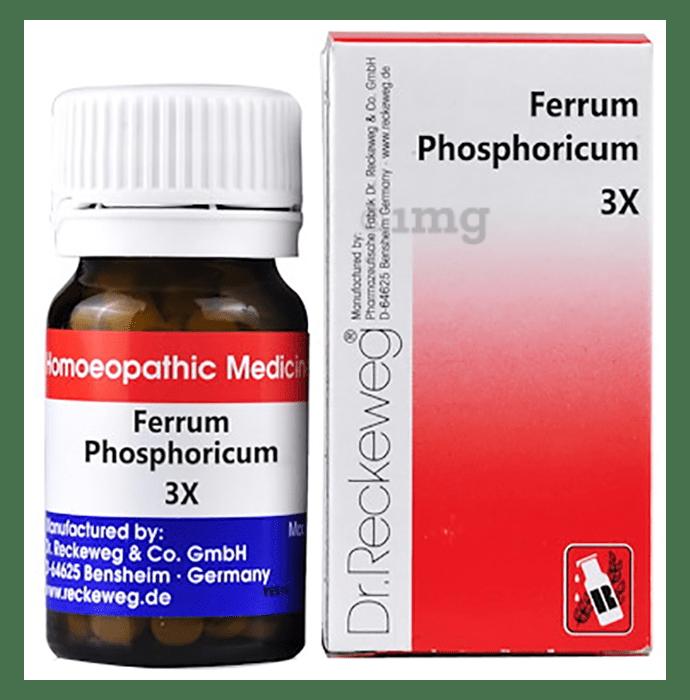 Dr. Reckeweg Ferrum Phosphoricum Biochemic Tablet 3X
