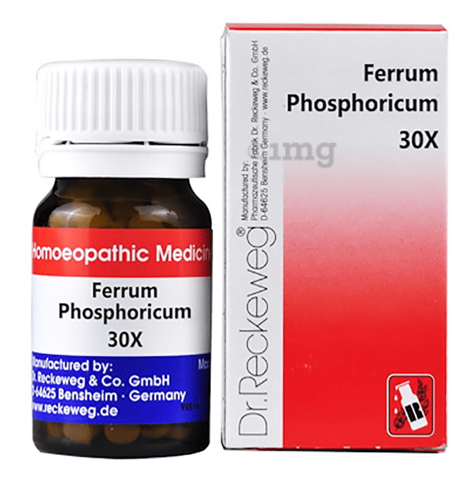 Dr. Reckeweg Ferrum Phosphoricum Biochemic Tablet 30X
