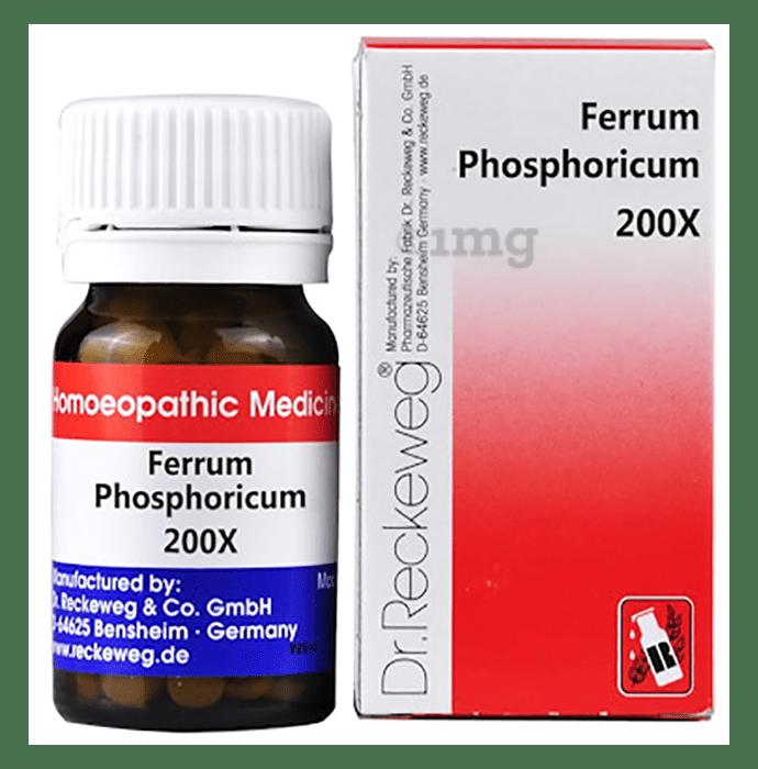 Dr. Reckeweg Ferrum Phosphoricum Biochemic Tablet 200X