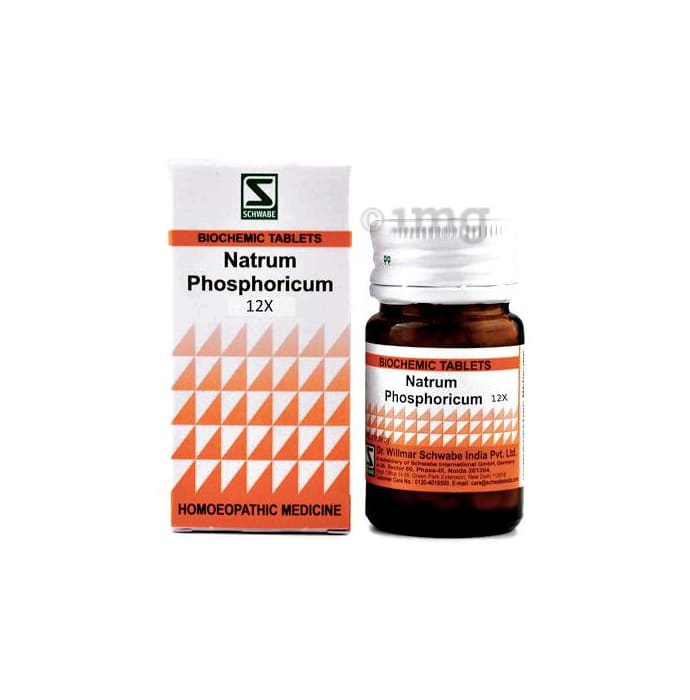 Dr Willmar Schwabe India Natrum Phosphoricum Biochemic Tablet 12X