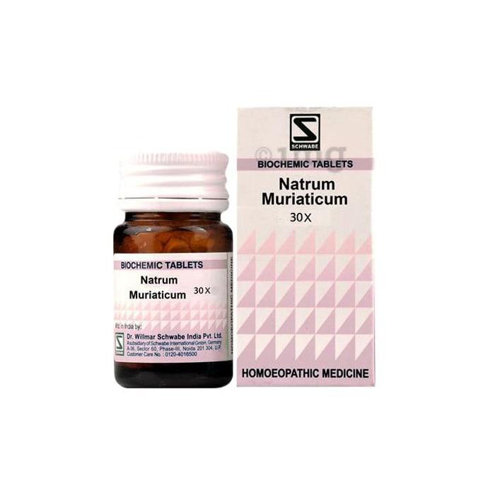 Dr Willmar Schwabe India Natrum Muriaticum Biochemic Tablet 30X