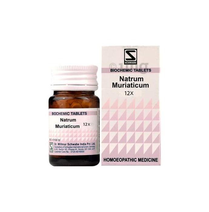 Dr Willmar Schwabe India Natrum Muriaticum Biochemic Tablet 12X