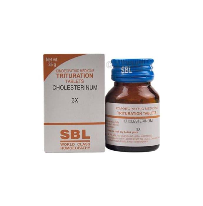 SBL Cholesterinum Trituration Tablet 3X
