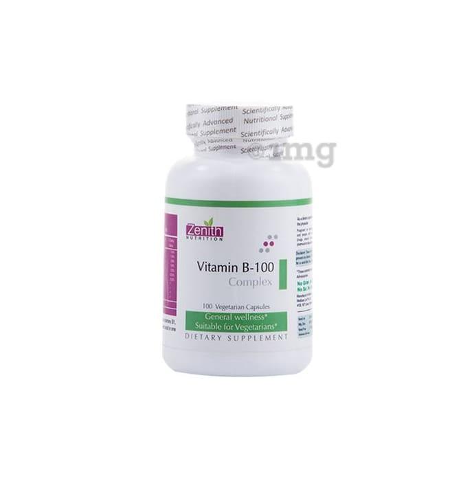 Zenith Nutrition Vitamin B-100 Complex Capsule