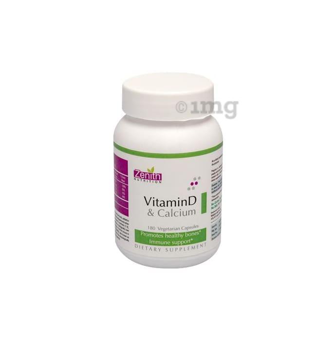 Zenith Nutrition Vitamin-D & Calcium Capsule