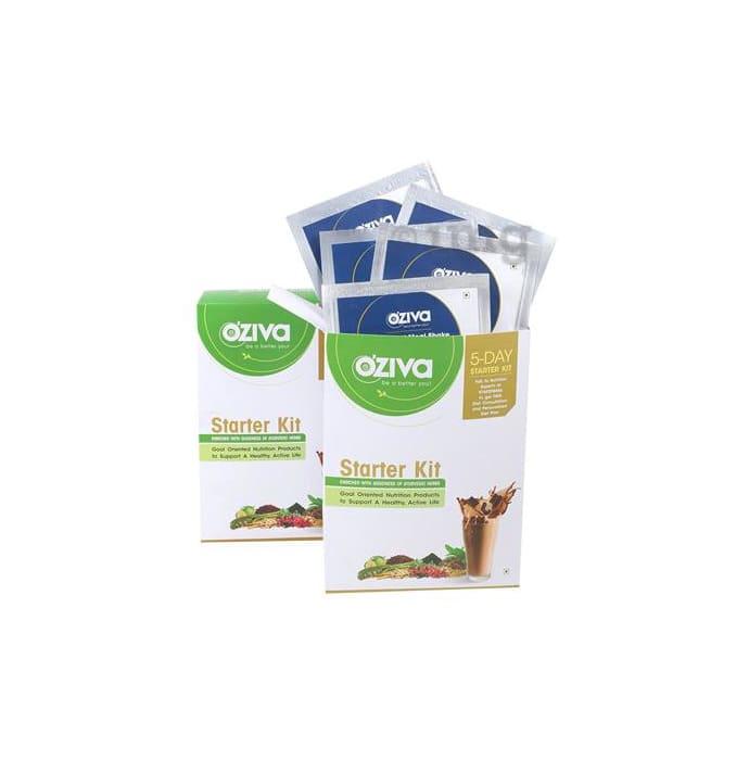 Oziva Nutritional Meal Shake for Men 5 Day Starter Kit