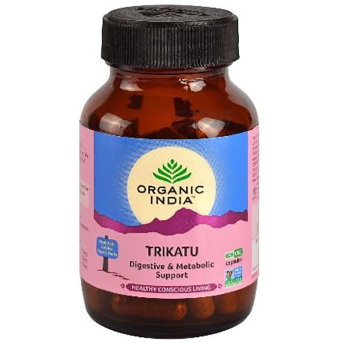 Organic India Trikatu    Capsule