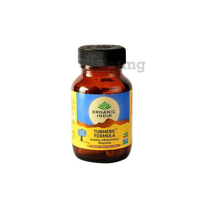 Organic India Turmeric Formula Veg Capsule