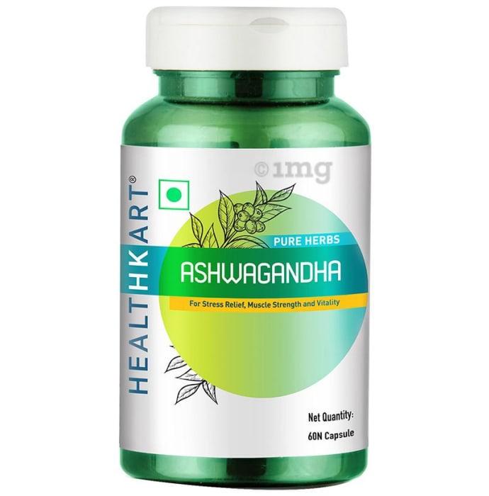 HealthKart Pure Herbs Ashwagandha Capsule