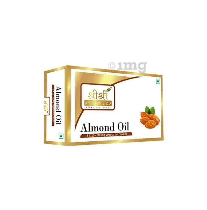 Sri Sri Tattva Almond Oil Capsule