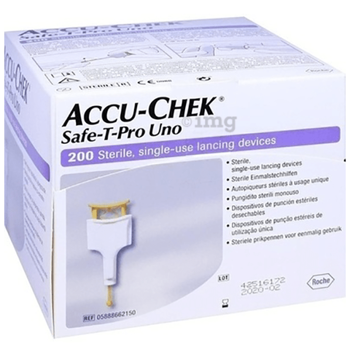 Accu-Chek Safe-T-Pro Uno Lancets