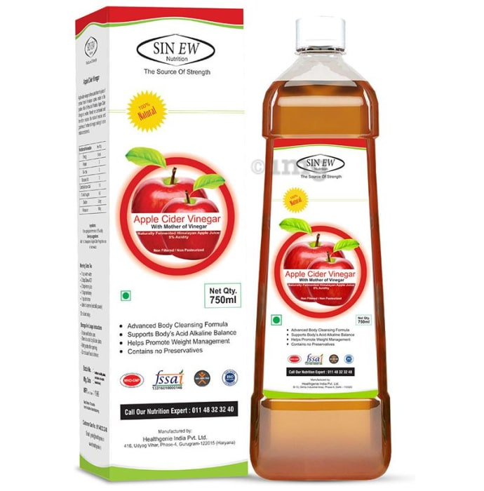 Sinew Nutrition Apple Cider Vinegar With Mother of Vinegar